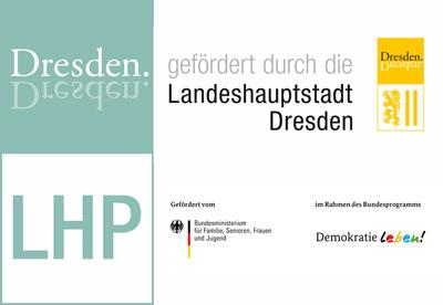 Die X-Mas Tram wird unterstützt durch das Lokale Handlungsprogramm für ein vielfältiges und weltoffenes Dresden.