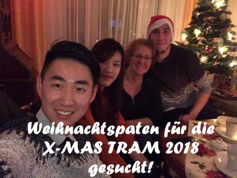 Eine Familie kam 2015 zusammen und feierte gemeinsam Weihnachten